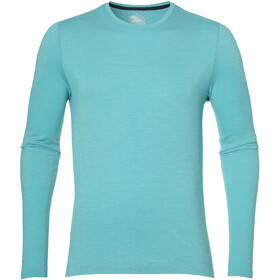 asics Seamless - T-shirt manches longues running Homme - turquoise